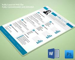 Resume Templates Download Free Interesting 44 CV Templates PDF DOC PSD AI Free Premium Templates