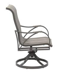 backyard creations lacey swivel rocker dining patio chair 2 pack