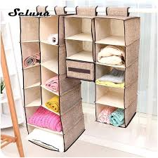 hanging closet organizer with drawers fabric hanging closet organizer collapsible clothes drawer shelves folding box underwear