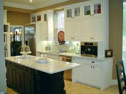 tall kitchen cabinets with glass doors small upper top door