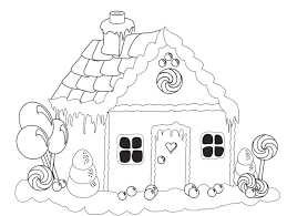 Small Picture Beautiful Gingerbread House Coloring Page Hand embroidery ideas