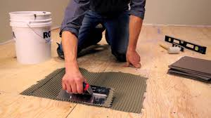 Kitchen Floor Installation Rona How To Lay Floor Tiles Youtube