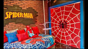 Cool Spiderman Bedroom Decorating Ideas Youtube