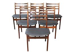 iconic modern furniture. set of 6 rosewood mid century chairs by moller midcentury modern dining dering hall iconic furniture s