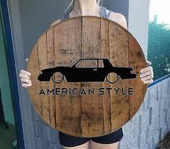american style car turbo gnx racing man