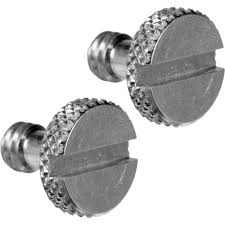 screw. Manfrotto Set Of Two 1/4\ Screw