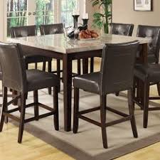 coaster home furnishings 103778 cal counter height table cappuccino create the ultimate functional fortable and aesthetically pleasing dining room