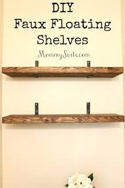 how to hang a shelf with nails amazing how to hang wall shelves without drilling