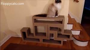 Cardboard House For Cats Katris Modular Cardboard Cat Scratcher Furniture Review