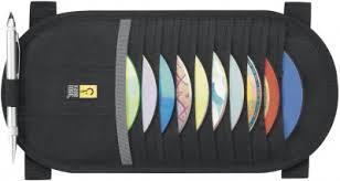<b>Чехол Case Logic</b> AV10 для CD чёрный, нейлон, Альбом для ...