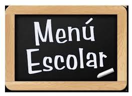 Resultado de imagen de menú comedor escolar