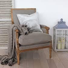 Image Painted Highgate Square Back Linen Oak Armchair Kwasdesign Vintage Furniture Biggie Best