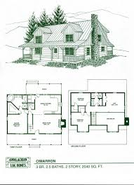 log cabins with floor plans
