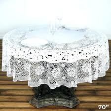 disposable round tablecloths friendly white thick disposable waterproof lace vinyl round tablecloth protector cover x red disposable round tablecloths