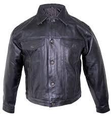 denim style black leather jacket cairoamani com