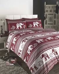 empire king size duvet cover set wine