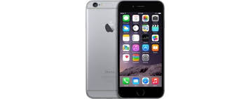 apple iphone 6 space grey. apple iphone 6 -(64gb, 4g lte, space gray) with 1 year iphone grey