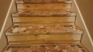 How To Hardwood Stairs Staining Your Stairs Psa Youtube