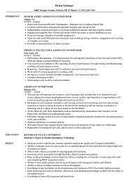sample resume supervisor position assistant supervisor resume samples velvet jobs