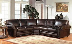 3 piece leather sectional. Interesting Leather Prestige Stanford 3 Piece Sectional In Espresso Leather By Parker House   PSTA95003 With E