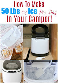 how to make 50 pounds of ice per day in your camper best countertop ice