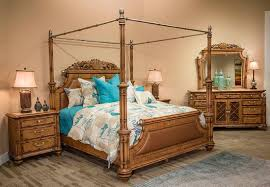 exotic bedroom furniture. excursions canopy classic bed by aico furniture exotic bedroom a
