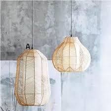 roost ariel rattan pendant lamps rattan pendant light o33 light