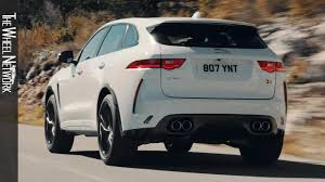 (5 reviews) feels light for an suv brakes feel light and really. 2019 Jaguar F Pace Svr Fuji White Driving Interior Exterior Youtube