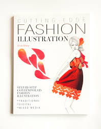 cutting edge fashion ilration book cover