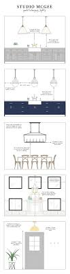 distance between pendant lights over dining table. studio mcgee | guide to hanging lights distance between pendant over dining table s