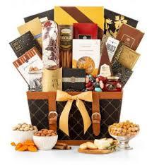 golden gourmet thanksgiving gift basket