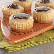 Cheesecake Display Stands Peanut Butter Chocolate Mini Cheesecakes NESTLÉ Very Best Baking 100
