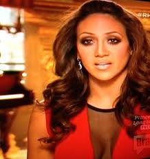 Interview Hairstyles 12 Inspiration Melissa Gorga's Black Mesh Red Interview Dress Hair Makeup And