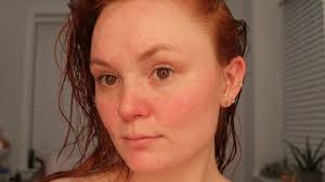 rebecca norris before photo during anese beauty routine experiment