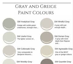 Superior Sherwin Williams The 10 Best Gray And Greige Paint Colours Gray Best Warm  Gray Paint Colors
