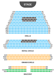 Royal George Seating Chart Wyndhams Theatre Seating Plan Watch The Man In The White