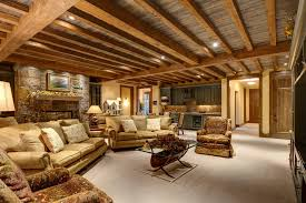 basement wood ceiling ideas. Basement Ceiling Diy Family Room Traditional With Wood Trim Leather Couch Ideas R