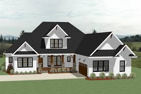 189 1104 front elevation of farmhouse home theplancollection house plan 189 1104