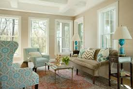 Brown And Blue Living Room Transitional Living Room Liz Caan Custom Living Room Turquoise Remodelling