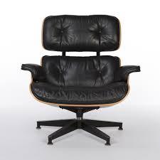 authentic eames lounge chair. Black \u0026 Cherry Herman Miller Original Eames Lounge Chair Ottoman Authentic
