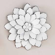 3d metal wall art flowers