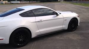 2015 ford mustang white. 2015 ford mustang gt premium white performance package tinted windows 20 tint sides 5 rear
