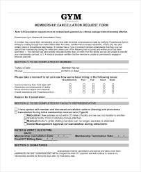 Doctors Note For Gym 7 Cancellation Letter Templates Pdf Doc Free Premium Templates