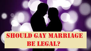should gay marriage be legal agree or disagree essay