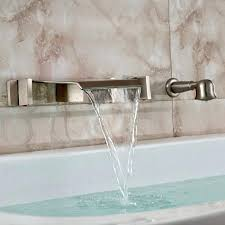 wall mounted waterfall faucets for bathroom sinks p5860 interior architecture remarkable wall mounted waterfall tub filler wall mounted waterfall faucets