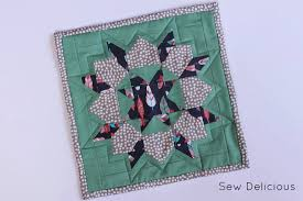 Mini Swoon Block Mug Rug - Sew Delicious & I love her designs and all her quilts and fabric choices are consistently  beautiful. In many Swoon blocks I've seen (do a ... Adamdwight.com