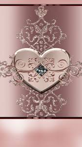 iPhone Wallpaper Cute Gold Rose