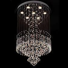 new square modern string big crystal chandelier hotel lobby pendant lighting 110v 240v oil rubbed bronze chandelier turquoise chandelier from cedarlighting