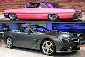 1962 pontiac catalina with pearly satin finish 2016 mercedes benz sl 500 with matte