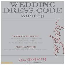 formal attire on wedding invitation